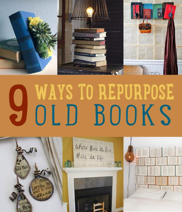 Super cool projects made from old books trusper for Super cool diy projects