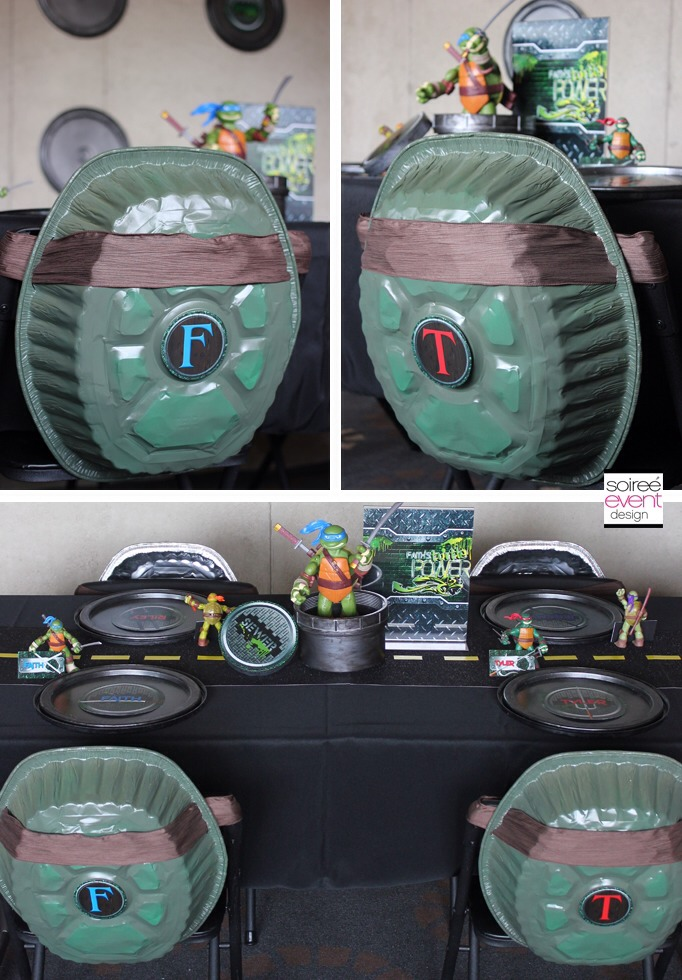 Ninja turtles birthday party ideas trusper for Tmnt decorations