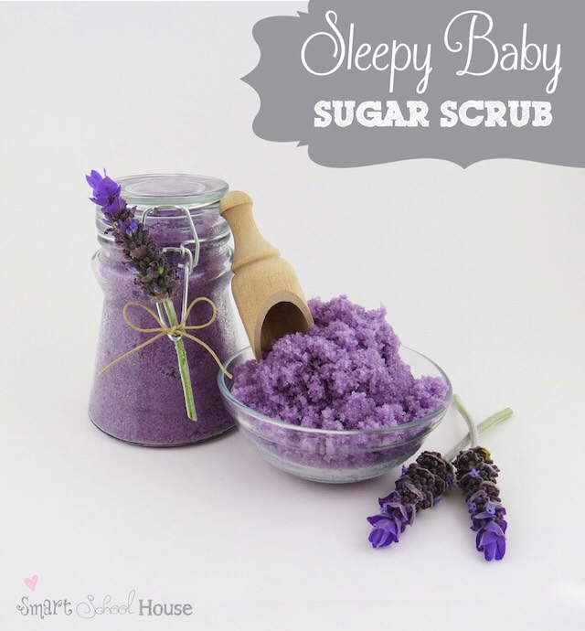 ✨✨🌺 DIY Sleepy Baby Sugar Scrub- For A More Relaxed Sleep ✨✨