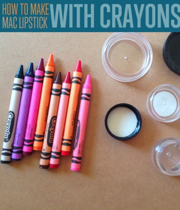 You can mix crayons to make your own custom colors, and I'm kicking myself that I didn't try this with metallic crayons. Finally, while DIY crayon lipstick is non-toxic, it's probably not a good idea for everyday wear; for that, it's best to stick with lipsticks that are actually made to be worn on your lips.