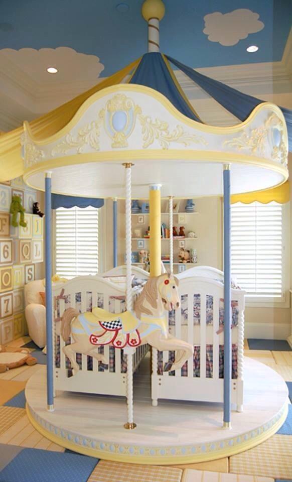 Twins Boy & Girl Nursery Ideas
