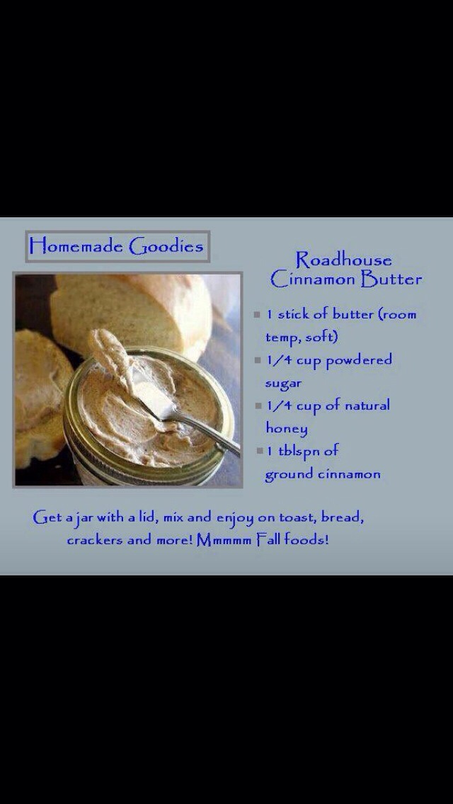 Roadhouse Cinnamon Butter