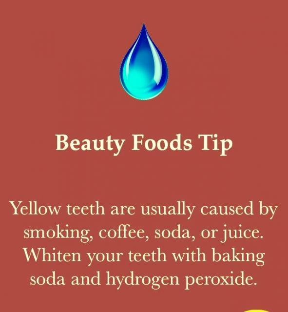Keep Teeth White