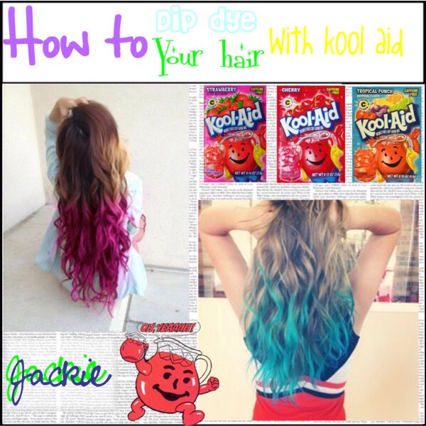 How To Dye Dark Hair Gold With Kool Aid | Dark Brown Hairs