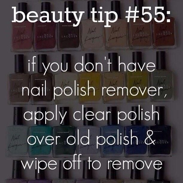 Nail Polish Remover That Works: Don't Have Nail Polish Remover?