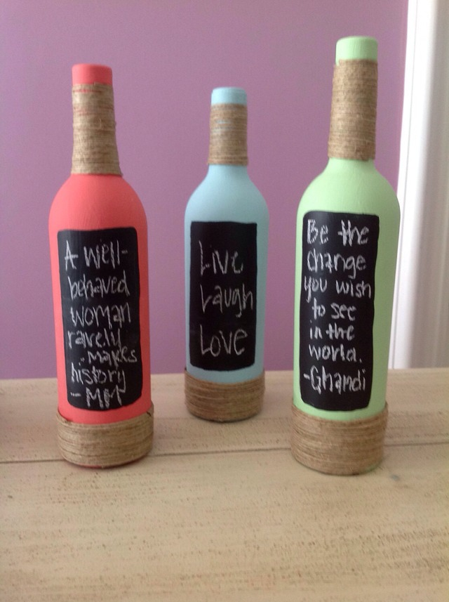 Awesome Idea For Old Empty Wine Bottles