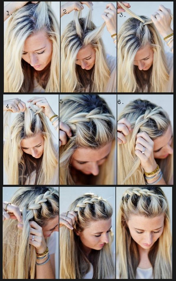 Follow These Easy Steps For The Perfect Waterfall Braid! | Trusper
