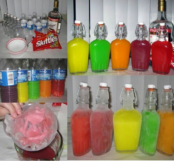 Skittles vodka strong to drink alone good mixed with for Fun drinks to make with vodka
