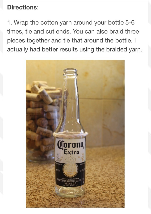 Make glasses out of your favorite beer wine or liquor for Glasses made out of bottles