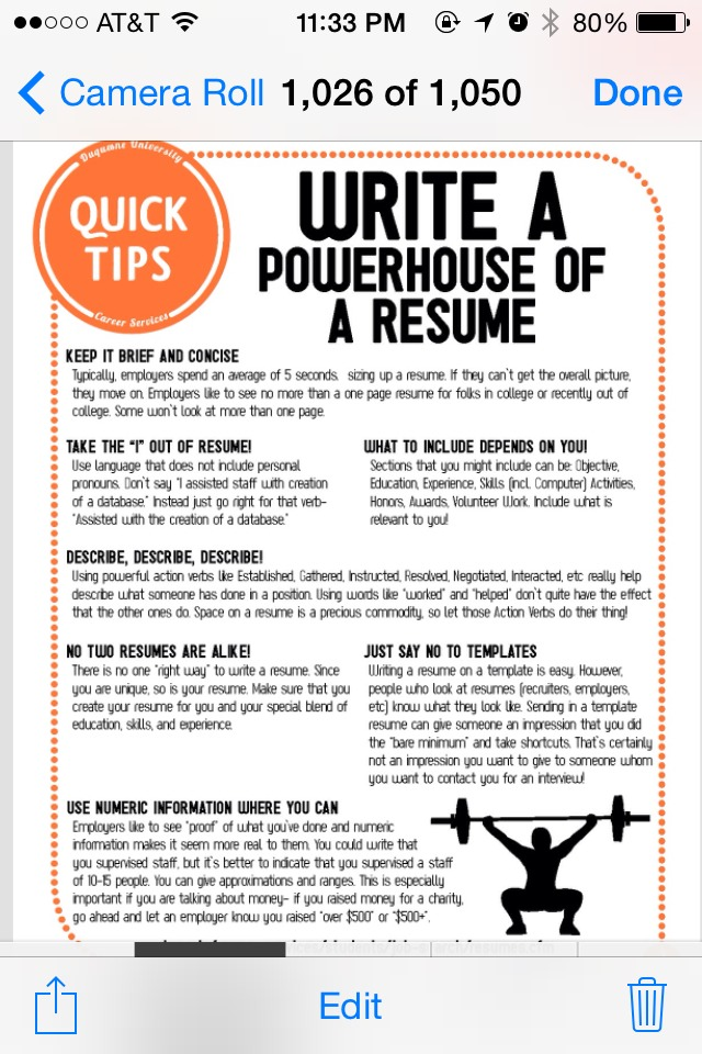 tips on how to write a resume trusper