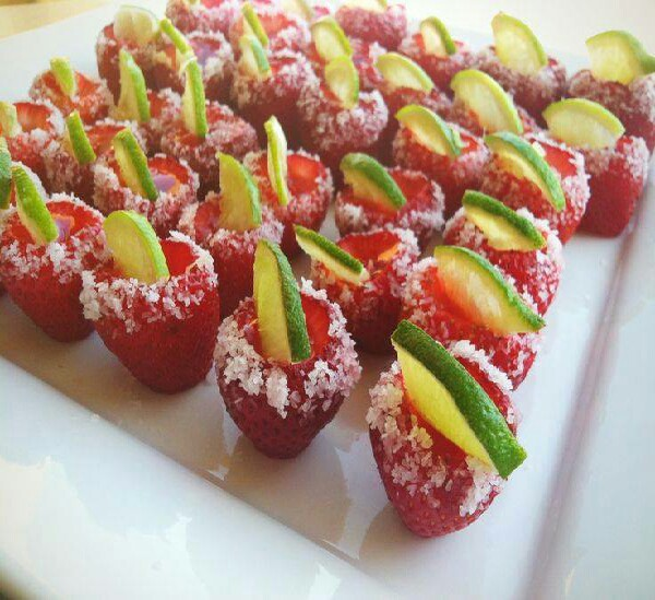 STRAWBERRY MARGARITA JELLO SHOTS1 Cup WaterBox of StrawberriesPacket ...