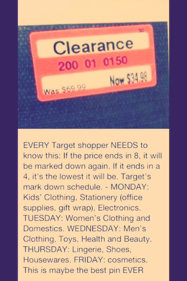 EVERY target shopper must know this!!!!