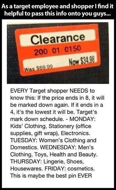 Target Price Tips!! 😃👍