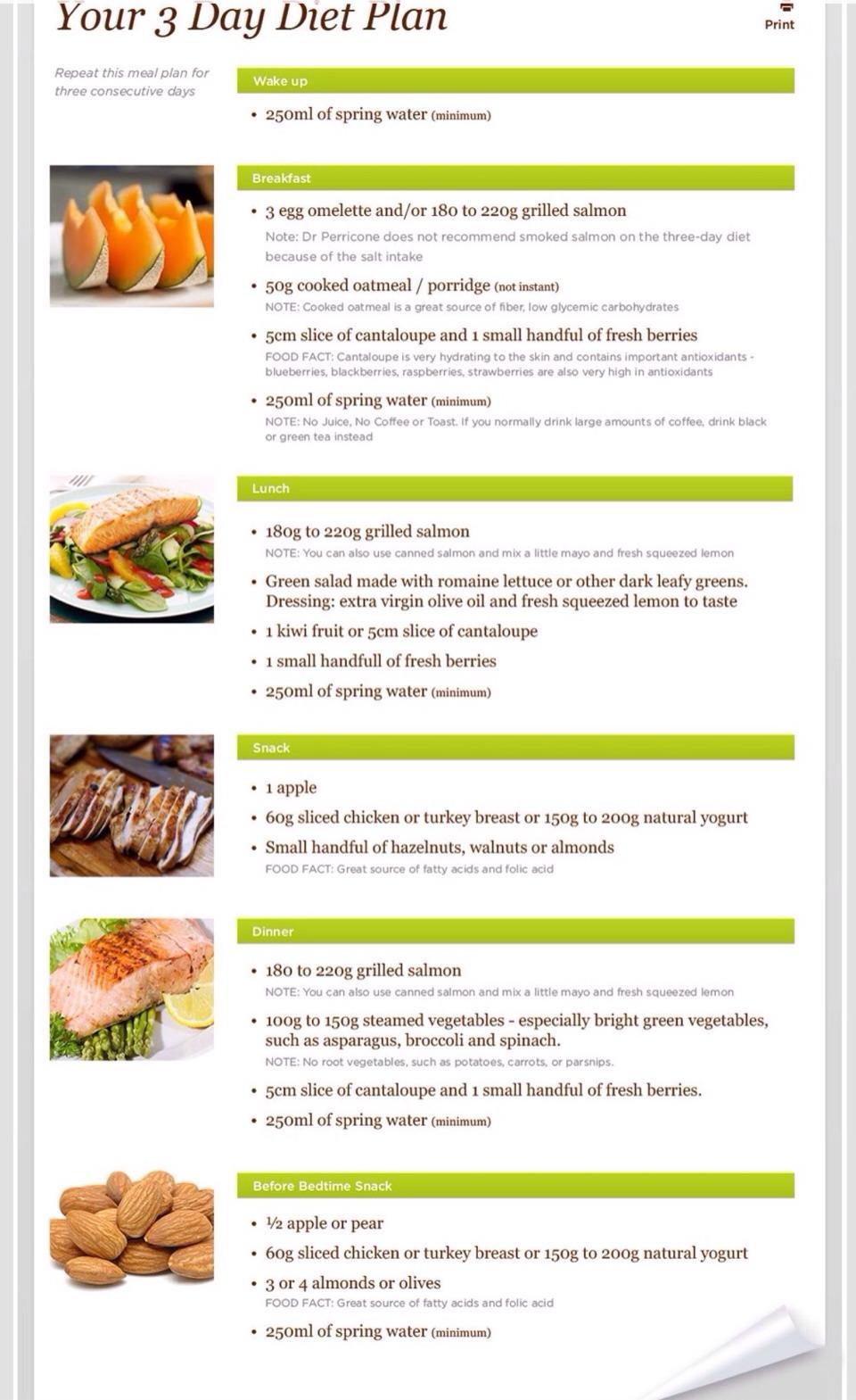 Your 3 Day Diet Plan !!! ?? | Trusper
