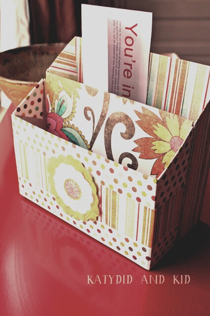 Cereal box drawer mail organizer trusper for Cereal organizer