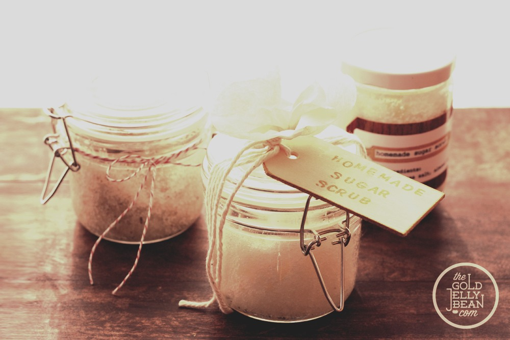 how to make coffee body scrub without coconut oil