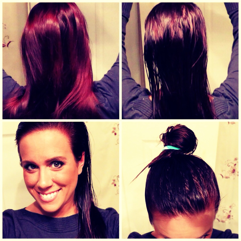 ... hair color shampoo also picture of how to lighten wash out hair color