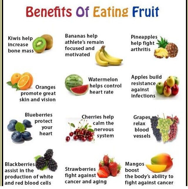 Benefits of eating local fruits