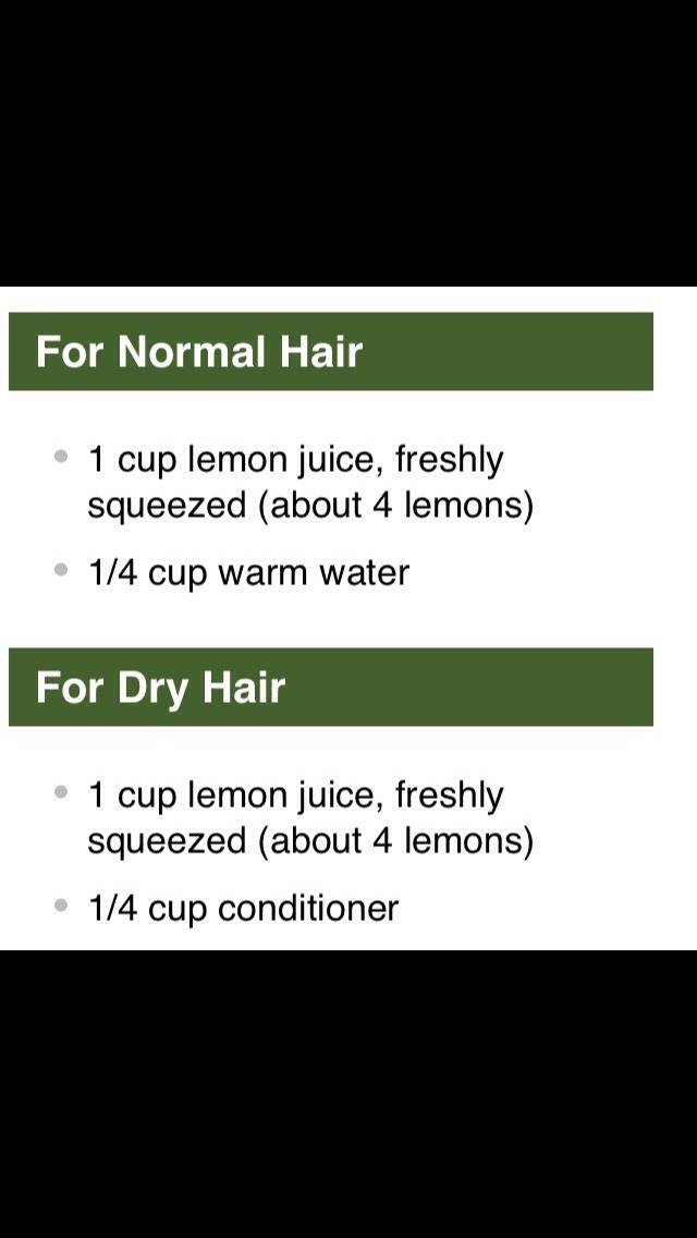 Natural Hair Lightening Spray