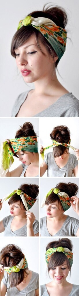 How To Wear A Head Scarf