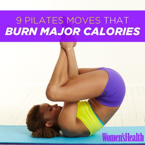 9 Pilate Moves That Burn More Calories