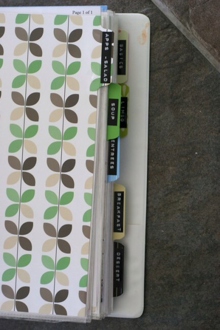 Cake Decorating Binder How To Use : Get Organized: 25 Totally Clever Storage Tips & Tricks ...