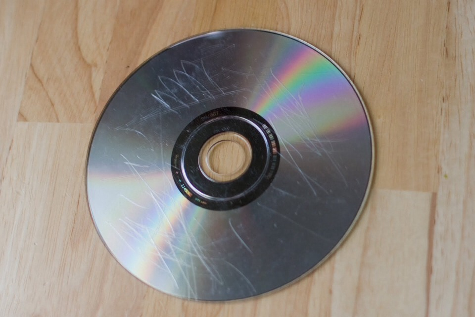 How to get scratches of your DVD disc