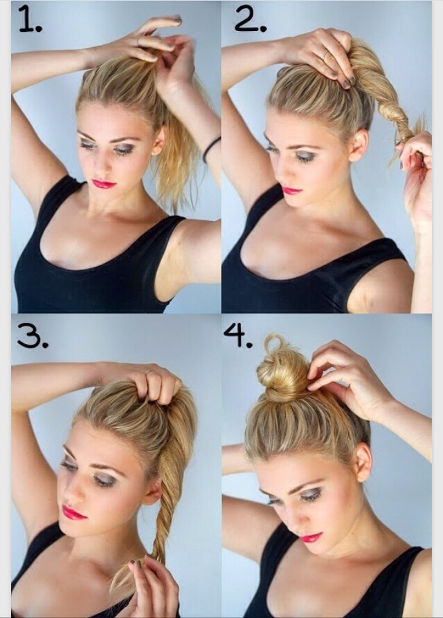 10 gorgeous messy bun updos you must try.