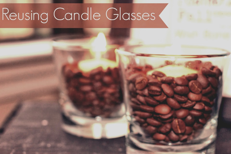 Turn Candle Holders Into Glasses