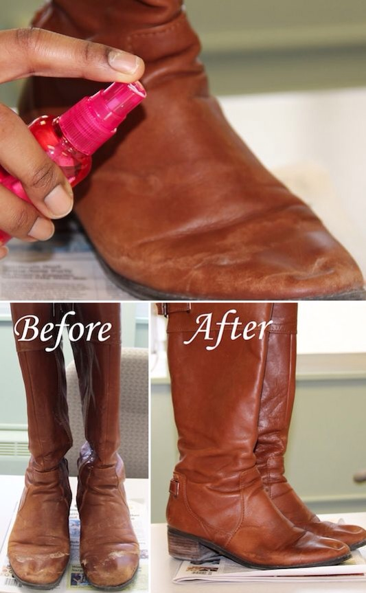 how to remove salt stains from boots trusper