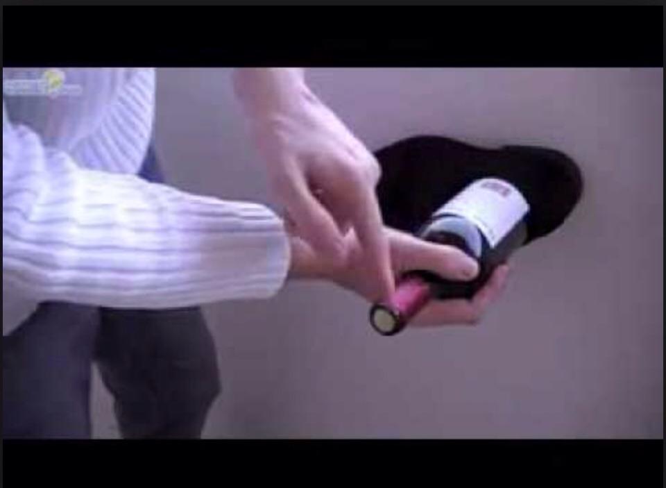Easily Open A Bottle Of Wine Without A Corkscrew Trusper