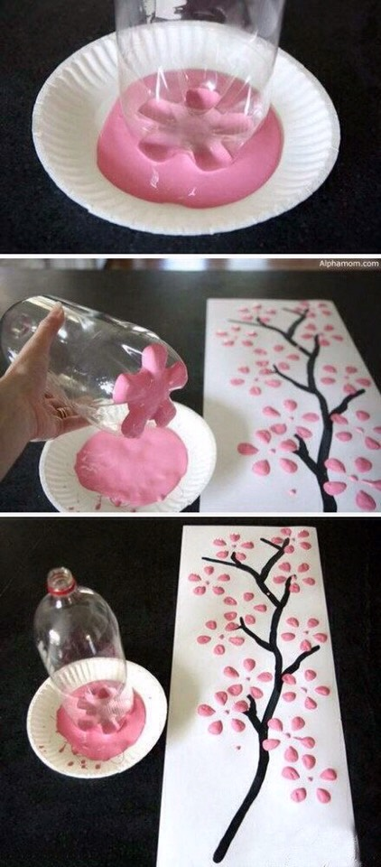 Pop Bottle Cherry Blossoms #tipit