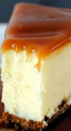 White Chocolate Carmel Cheesecake!