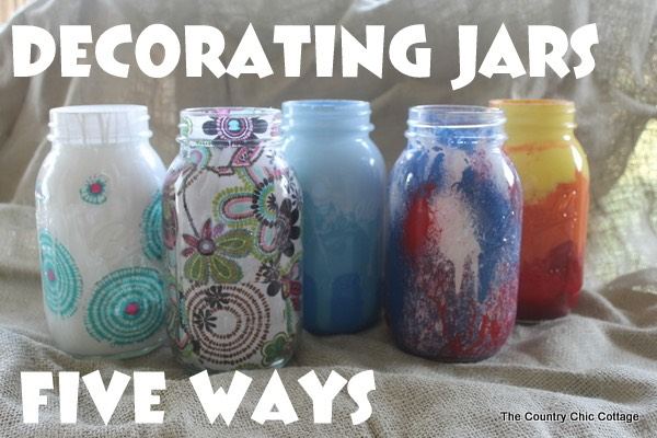 Cool arts and crafts with mason jars trusper for Cool things to do with mason jars