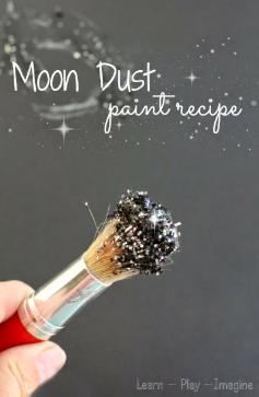 Moon Dust Paint!!