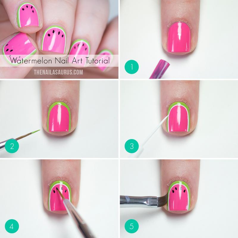 Cute Nail Art Step By Step | Trusper