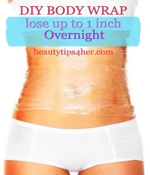 Diy At Home Weight Loss Wrap: DIY Body Wrap