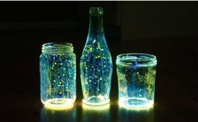 Diy Glow Jars 😍