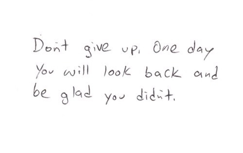 Don't Give Up Quotes😌💓