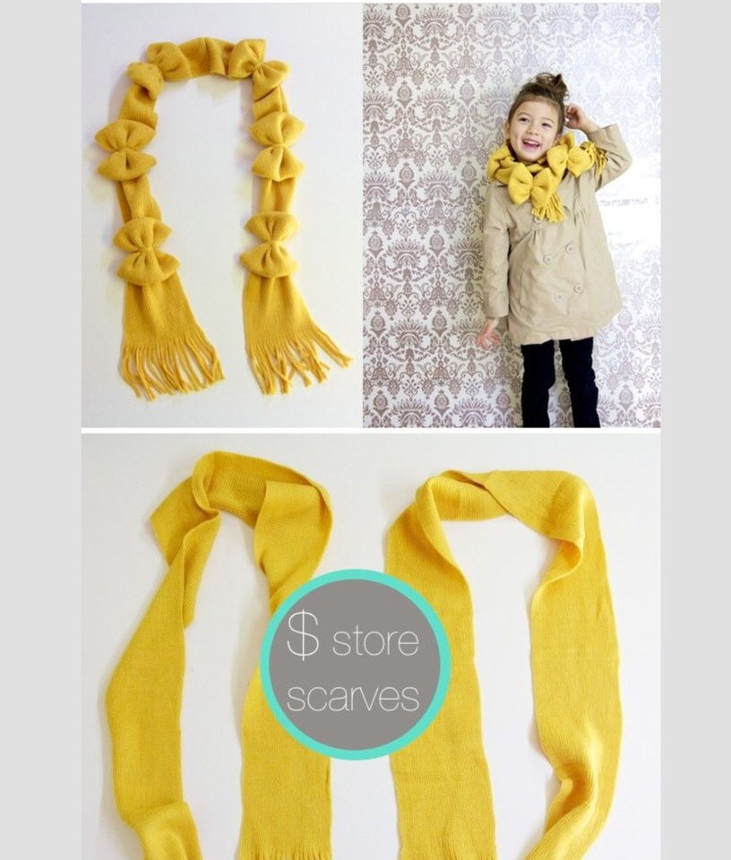diy easy affordable scarves from dollar store trusper