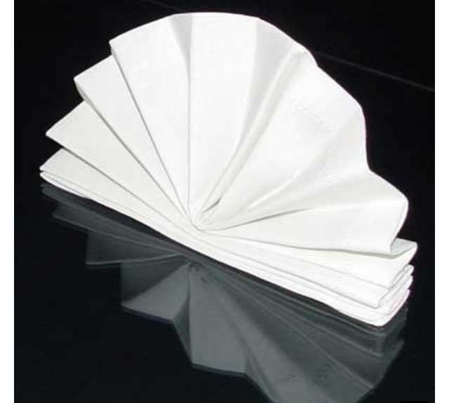 Creative ways to fold napkins trusper - Unique ways to fold napkins ...