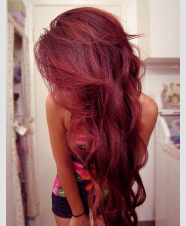 Cherry Coke Hair Color Google Search On The Hunt