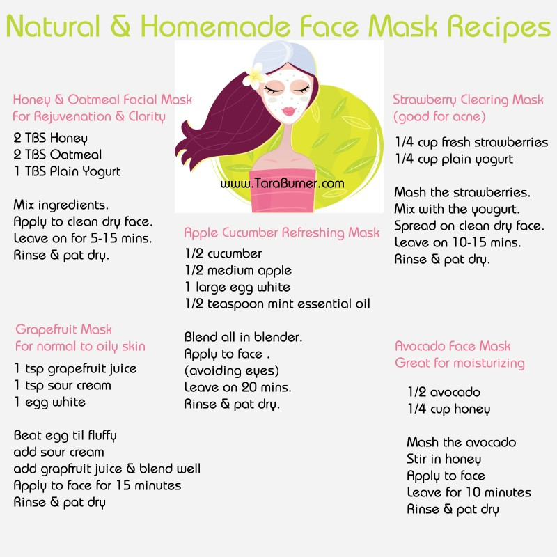 DIY Face Masks #Homemade Natural | Trusper