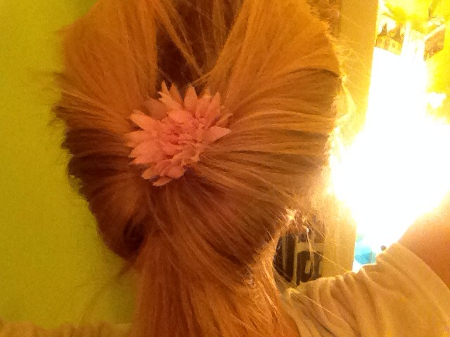 how to make your ponytail clip in more sublte