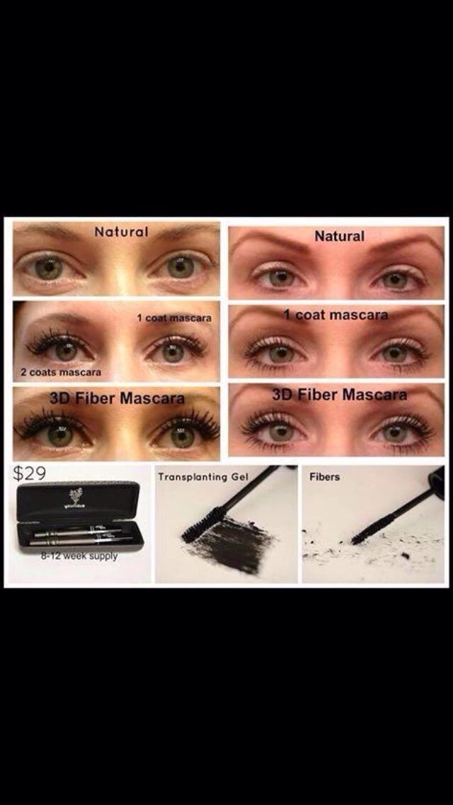 For Natural Fuller Longer Lashes