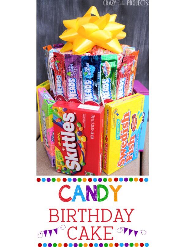 Candy Birthday Cake 🍬🍰💖
