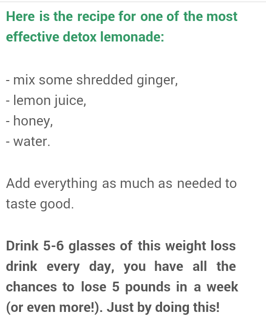 Tips For Effective Weight Loss: The Most Effective Lemonade Detox Recipe For Weight Loss