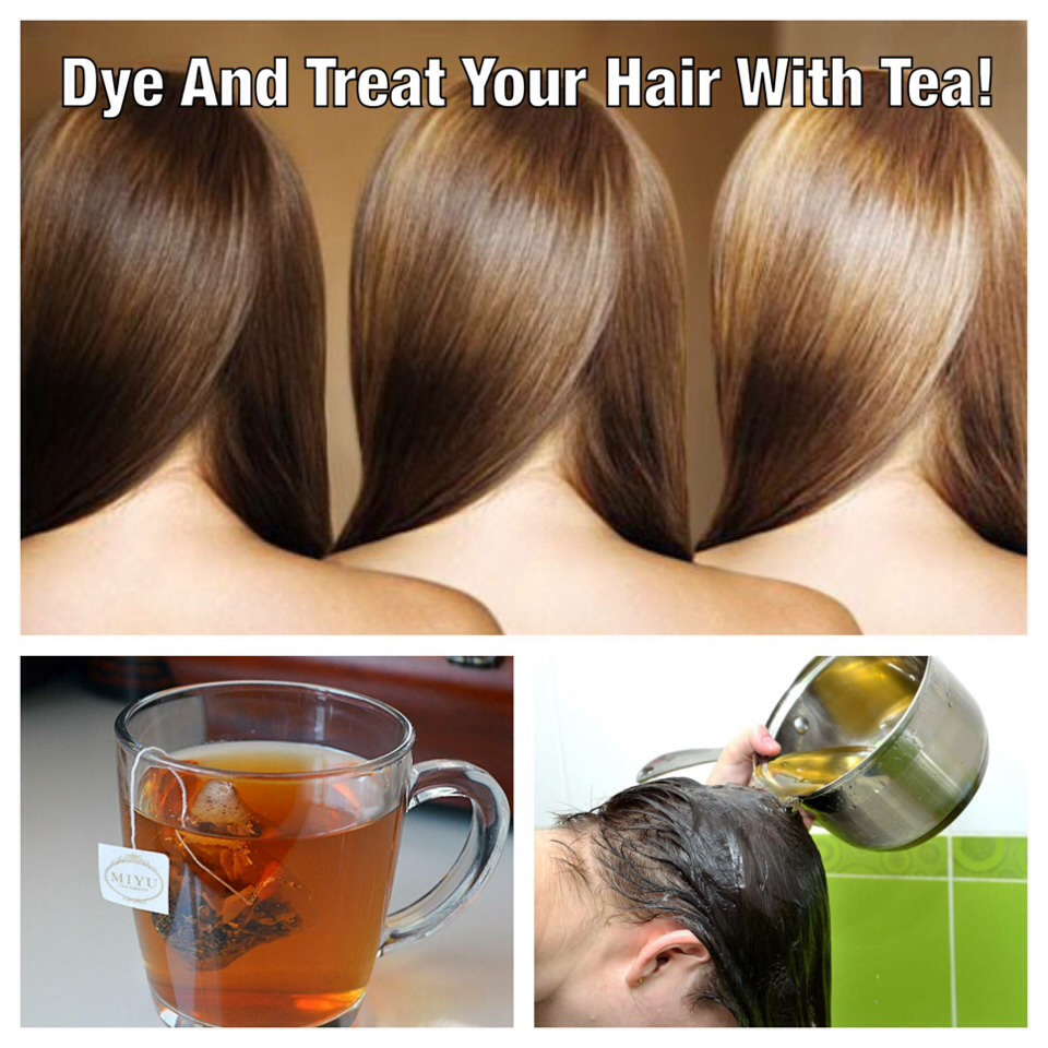 Dye And Treat Your Hair With Tea Trusper