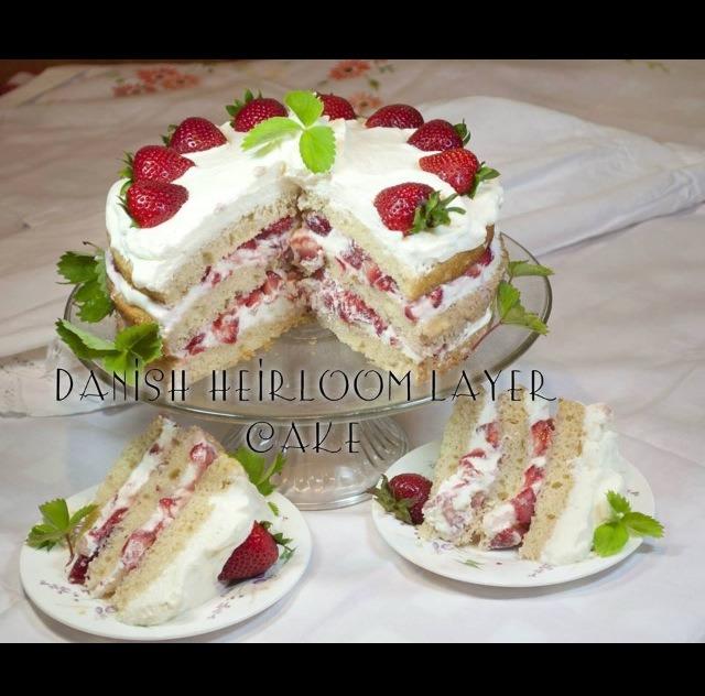 Danish Layer Birthday Cake