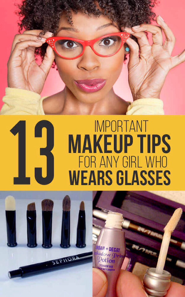 👓Important Makeup Tips For Any Girl Who Wears Glasses!👓